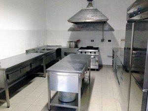 Cucina dell'associazione